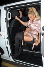 KATIE PRICE Night Out in London 09/18/2016