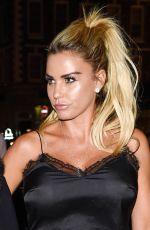 KATIE PRICE Night Out in Worcester 09/20/2016