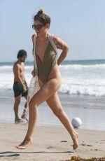 KATIE WAISSEL in Swimsuit at a Beach in Santa Monica 09/19/2016