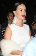 KATY PERRY Arrives at Beyonce