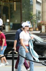 KATY PERRY Out and About in Shanghai 09/23/2016