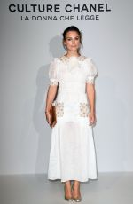 KEIRA KNIGHTLEY at Culture Chanel Exhibition Opening in Venice 09/15/2016