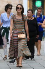 KEIRA KNIGHTLEY Out and About in Venice 09/15/2016