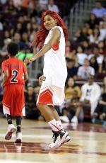 KEKE PALMER at Power 106 Basketball Game in Los Angeles 09/11/2016