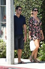 KELLY BROOK Out and About in West Hollywood 09/07/2016