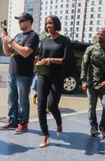 KELLY ROWLAND Arrives at Usher