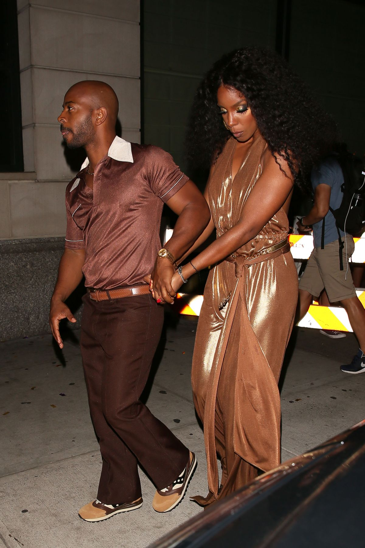 KELLY ROWLAND at Beyonce's Birthday Party in New York 09/05/2016