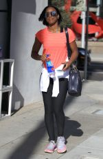 KELLY ROWLAND Leaves a Salon in Beverly Hills 09/01/2016