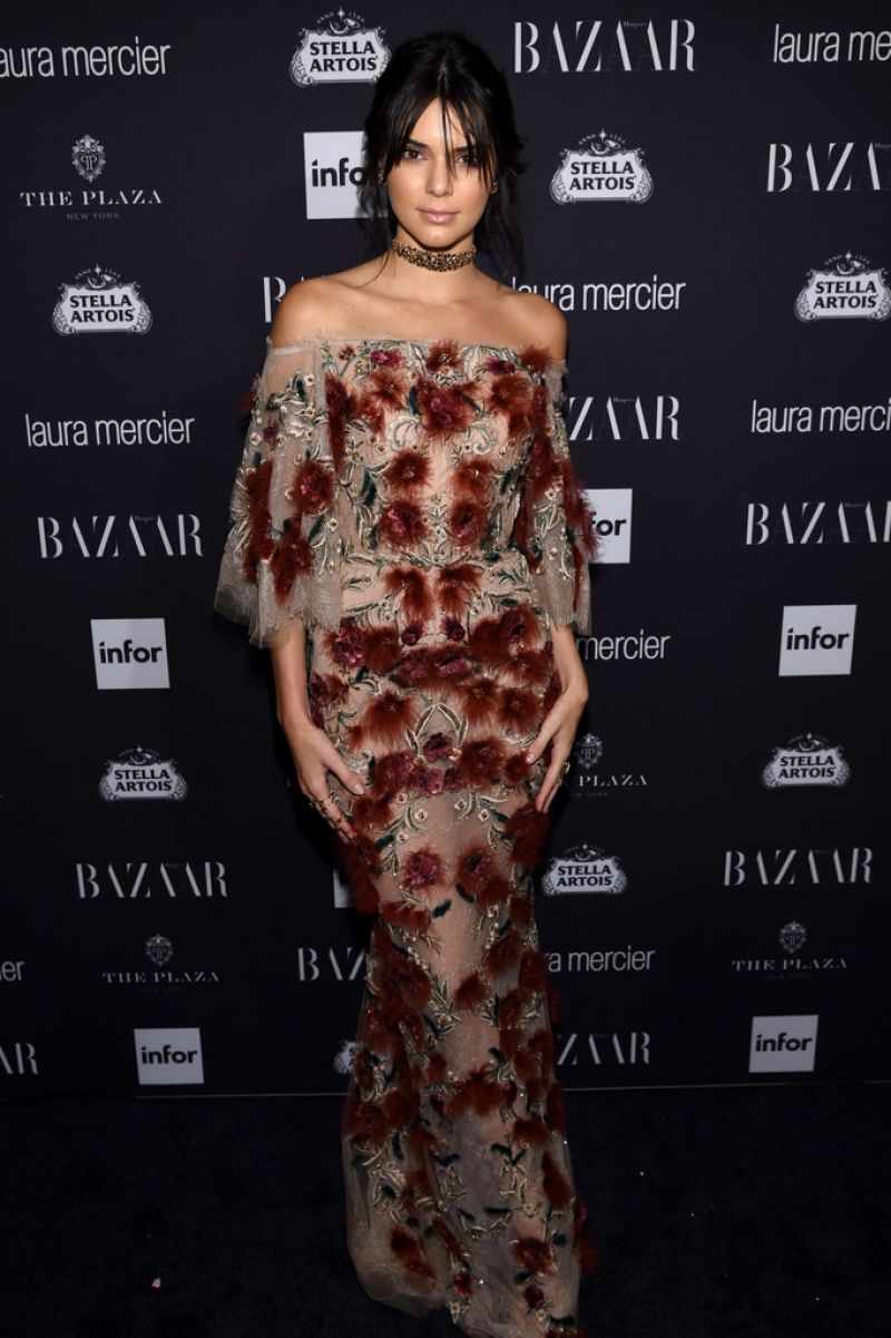 KENDALL JENNER at Harper's Bazaar Celebrates Icons by Carine Roitfeld in New York 09/09/2016