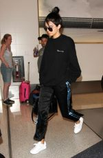 KENDALL JENNER at LAX Airport in Los Angeles 09/26/2016