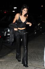 KENDALL JENNER at Mr Chow in New York 09/13/2016
