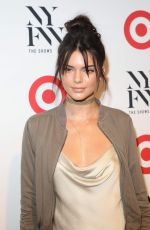 KENDALL JENNER at Target + IMG NYFW Kickoff Party in New York 09/06/2016