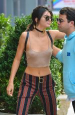 KENDALL JENNER in a Halter Top Out and About in New York 09/27/2016