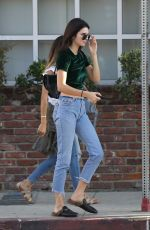 KENDALL JENNER in Jeans Out in Hollywood 09/21/2016