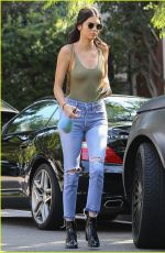 KENDALL JENNER Leaves a Friends Home in West Hollywood 08/31/2016