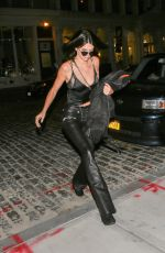 KENDALL JENNER Leaves Mr Chow in New York 09/13/2016