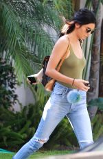 KENDALL JENNER Out and About in West Hollywood 08/30/2016