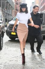 KENDALL JENNER Out in New York 09/07/2016