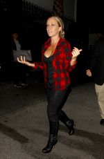 KENDRA WILKINSON Night Out in Hollywood 09/14/2016