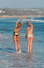 KENNEDY SUMMER and KHLOE TERAE in Bikinis at a 138 Water Photoshoot in Malibu 09/20/2016