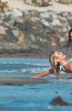 KENNEDY SUMMER and KHLOE TERAE in Bikinis at a 138 Water Photoshoot in Malibu 09/20/2016