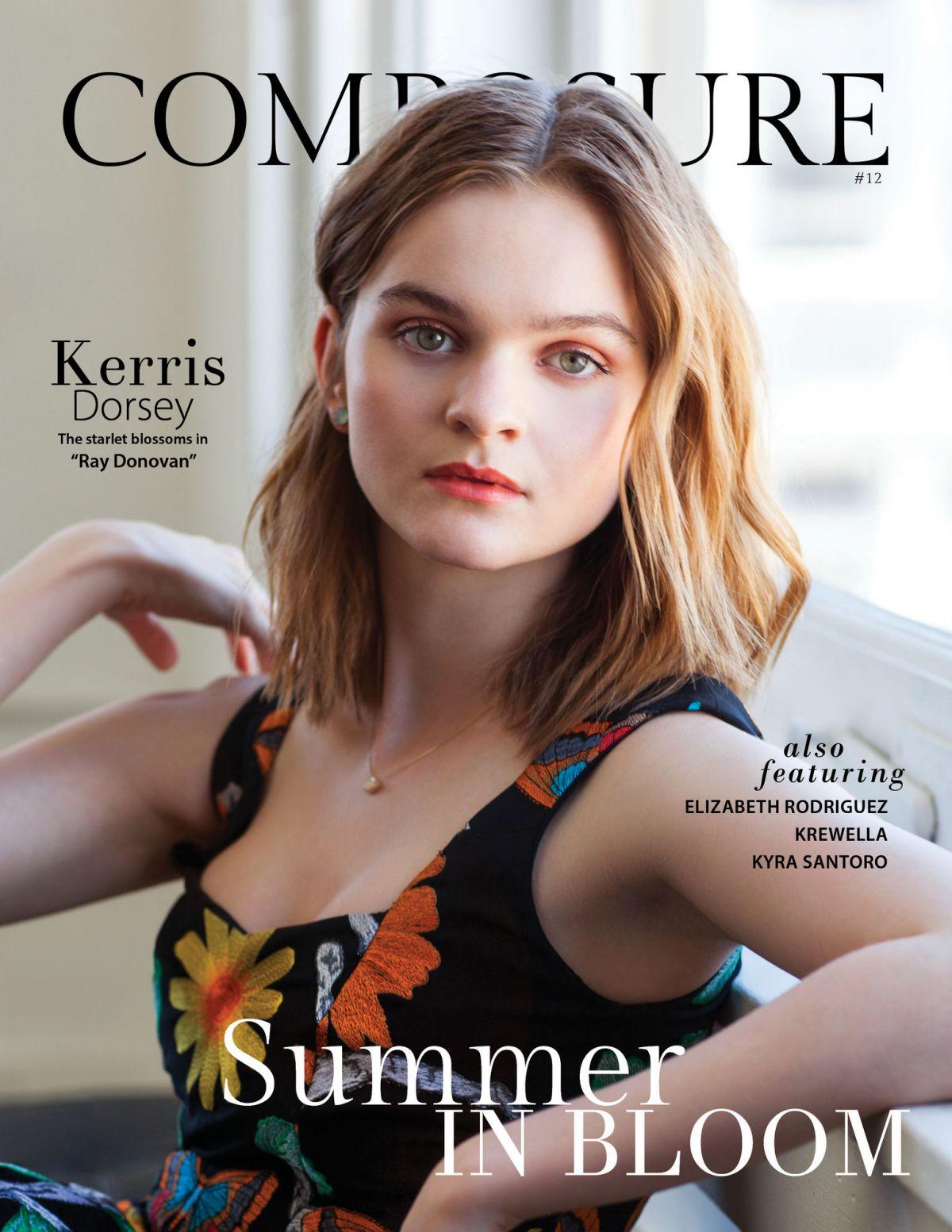 KERRIS DORSEY in Composure Magazine, Issue #12 September 2016