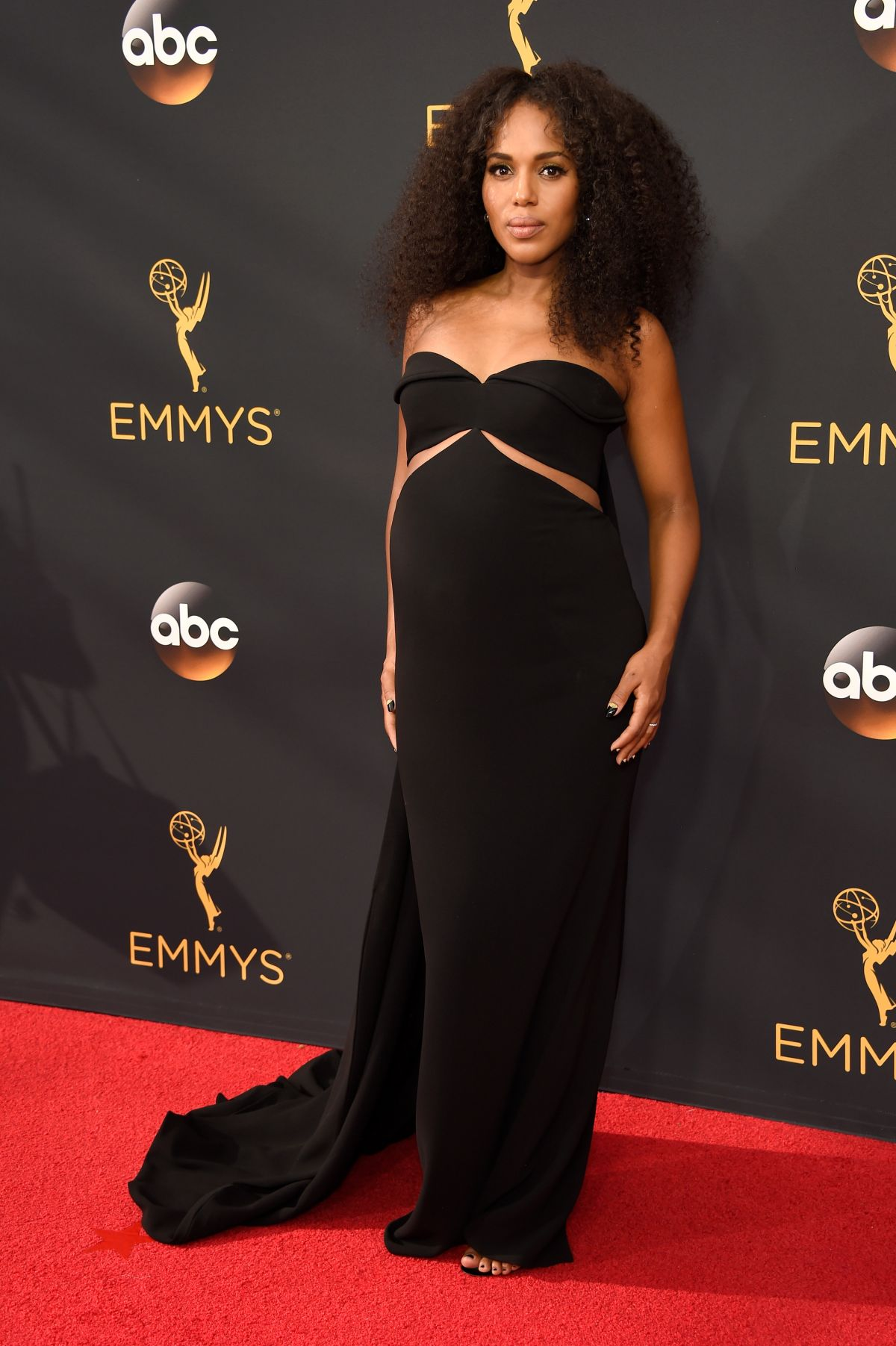 KERRY WASHINGTON at 68th Annual Primetime Emmy Awards in Los Angeles 09/18/2016