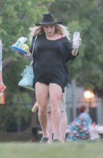 KESHA SEBERT Out for Picnic in Los Angeles 08/27/2016