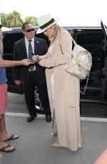 KHLOE KARDASHIAN at LAX Airport in Los Angeles 09/13/2016