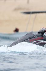 KHLOE KARDASHIAN in Swimsuit Jet Skiing in Cabo San Lucas 09/03/2016