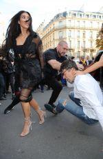 KIM KARDASHIAN Gets Kissed by Vitalii Sediuk in Paris 09/28/2016