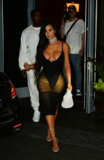 KIM KARDASHIAN Leaves Her Hotel in Miami 09/17/2016