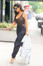 KIM KARDASHIAN Out and About in New York 09/09/2016