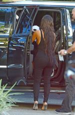 KIM KARDASHIAN Out for Lunch in Miami 09/18/2016