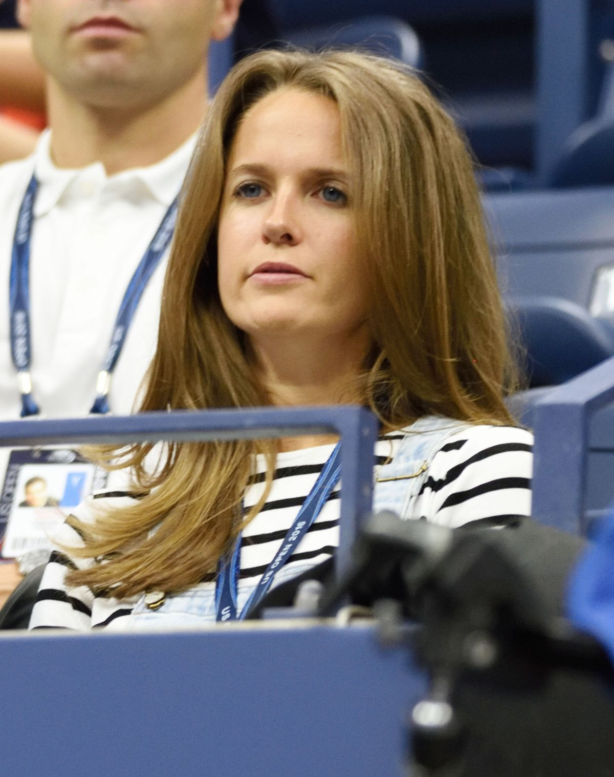 KIM SEARS at 2016 US Open in New York, 09/01/2016