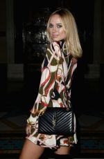 KIMBERLEY GARNER at David Ferriera Fashion Show at London Fashion Week 09/20/2016