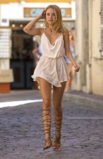 KIMBERLEY GARNER Out Shopping in St Tropez 09/07/2016