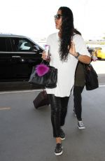 KIMORA LEE SIMMONS at Los Angeles International Airport 09/07/2016