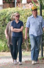 KIRSTEN DUNST and Beau Jesse Plemons Out in Los Angeles 09/19/2016