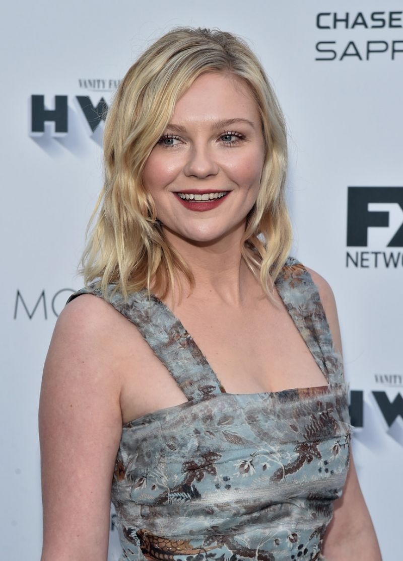 KIRSTEN DUNST at Vanity Fair and FX