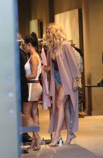 KOURTNEY and KHLOE KARDASHIAN Shoppig in Bal Harbour in Miami 09/14/2016