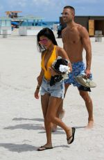 KOURTNEY KARDASHIAN at a Beach in Miami 09/14/2016