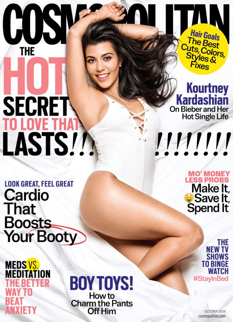 KOURTNEY KARDASHIAN in Cosmopolitan Magazine, October 2016 Issue