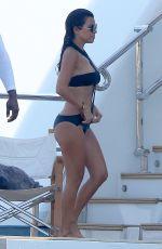 KOURTNEY KARDASHIAN in Swimsuit at a Yacht in France 09/08/2016