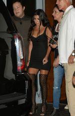 KOURTNEY KARDASHIAN Night Out in Miami 09/16/2016