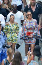 KOURTNEY KARDASHIAN on Holiday in Capri 09/02/2016