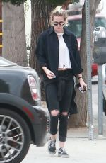 KRISTEN STEWART Out and About in West Hollywood 09/13/2016