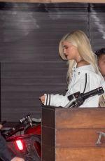 KYLIE JENNER and Tyga at Nobu in Malibu 09/14/2016