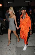 KYLIE JENNER Night Out in New York 09/08/2016