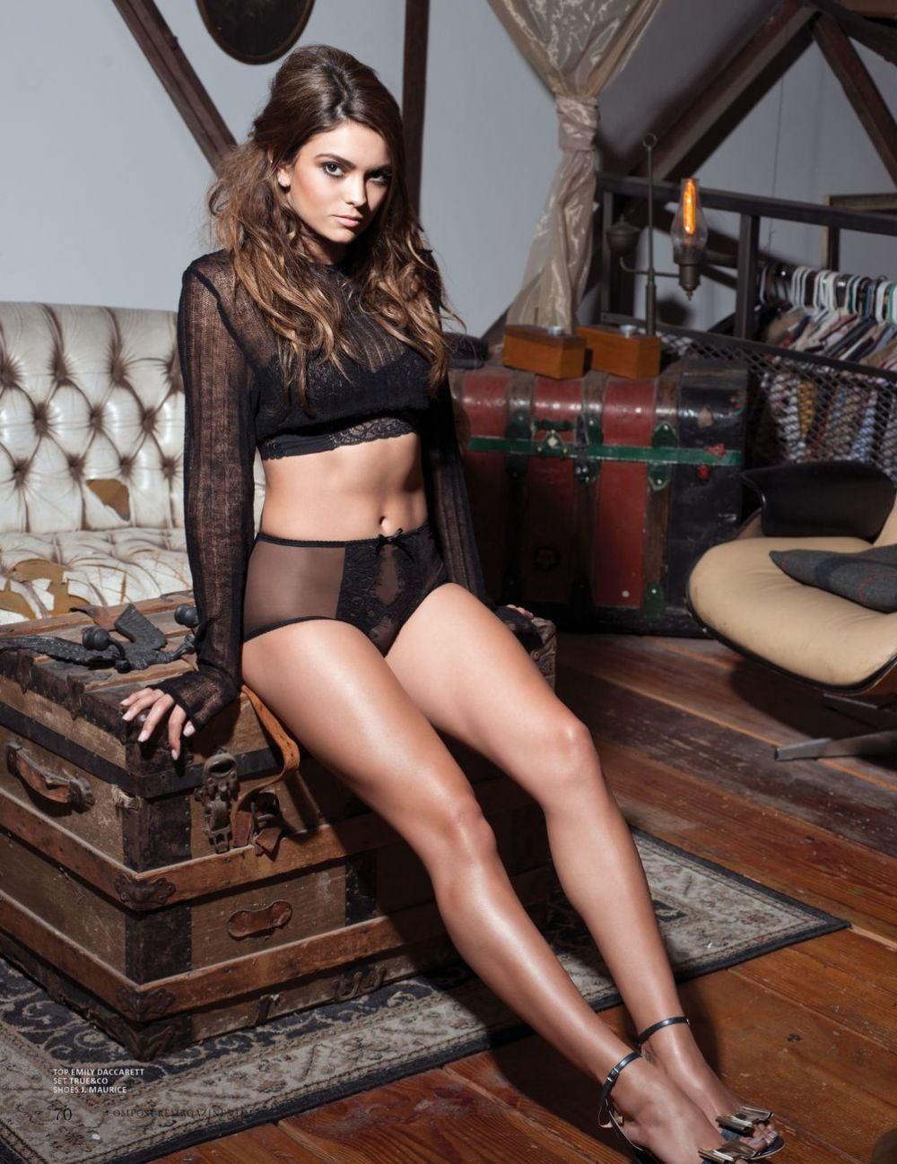 KYRA SANTORO in Composure Magazine, Issue #12 September 2016